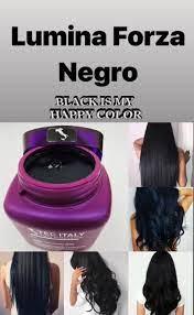 lumina-forza-colore-negro-masacarilla-de-color-tec-italy-hair-dimension-black